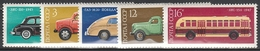 Sowjetunion Mi. Nr. 4473-4477 Postfrisch (5644) - 1923-1991 UdSSR