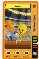 Trading Card Carte Auchan La Fete Du Sport 2014 Verso Domino Tex Avery N° 41 - Trading Cards