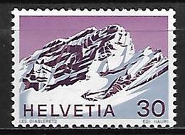 SUISSE    -   1971.    Y&T N° 884 **.    Montagne - Suisse