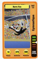 Trading Card Carte Auchan La Fete Du Sport 2014 Verso Domino Tex Avery N° 47 - Trading Cards