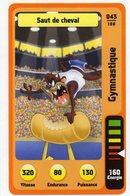 Trading Card Carte Auchan La Fete Du Sport 2014 Verso Domino Tex Avery N° 43 - Non Classificati