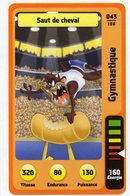 Trading Card Carte Auchan La Fete Du Sport 2014 Verso Domino Tex Avery N° 43 - Trading Cards