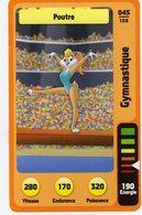 Trading Card Carte Auchan La Fete Du Sport 2014 Verso Domino Tex Avery N° 45 - Non Classificati