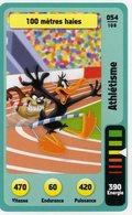 Trading Card Carte Auchan La Fete Du Sport 2014 Verso Domino Tex Avery N° 54 - Non Classificati