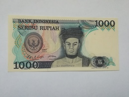 INDONESIA 1000 RUPIAH 1987 - Indonésie
