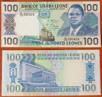 Sierra Leone 100 Leones 1990 UNC - Sierra Leone