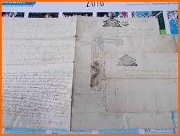 CACHET GENERALITE MOULINS 1683 1690 1696 Augmentation à Coté 1734  Dougnon Dognon La Vallade Creuse - Cachets Généralité