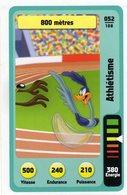 Trading Card Carte Auchan La Fete Du Sport 2014 Verso Domino Tex Avery N° 52 - Non Classificati