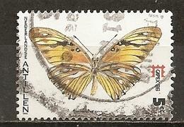 Antilles Neerlandaise Netherlands Antilles 1986 Papillon Butterfly Obl - Curaçao, Nederlandse Antillen, Aruba