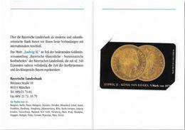 Germany - Bayerische Landesbank 4 - Taler Ludwig II Coin - O 1913 - 11.95, 12DM, 2.000ex, Mint In Folder - Germany