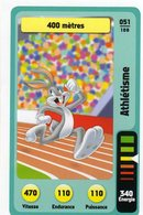 Trading Card Carte Auchan La Fete Du Sport 2014 Verso Domino Tex Avery N° 51 - Non Classificati