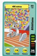 Trading Card Carte Auchan La Fete Du Sport 2014 Verso Domino Tex Avery N° 51 - Trading Cards