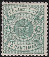 Luxembourg  .    Yvert     .   28     .    *     .   Neuf Avec Charniere  .  /   .  Mint-hinged - 1859-1880 Armoiries