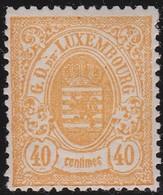 Luxembourg  .    Yvert     .   35     .    *     .   Neuf Avec Charniere  .  /   .  Mint-hinged - 1859-1880 Armoiries