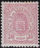 Luxembourg  .    Yvert     .  46       .    *     .   Neuf Avec Charniere  .  /   .  Mint-hinged - 1859-1880 Armoiries