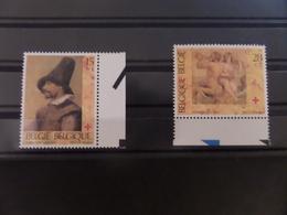 Croix Rouge De Belgique - Adriaen Brouwer, Pierre Paul Rubens - Unused Stamps
