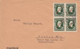 Slovaquie Lettre Pour L'Allemagne - Storia Postale