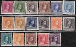 Luxembourg  .    Yvert     .    95/109     .    *     .   Neuf Avec Charniere  .  /   .  Mint-hinged - 1914-24 Marie-Adélaïde