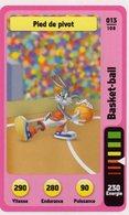 Trading Card Carte Auchan La Fete Du Sport 2014 Verso Domino Tex Avery N° 13 - Trading Cards