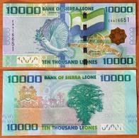 Sierra Leone 10000 Leones 2013 UNC - Sierra Leona