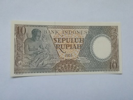 INDONESIA 10 RUPIAH 1963 - Indonesia