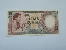 INDONESIA 5 RUPIAH 1958 - Indonésie
