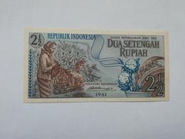 INDONESIA 2 1 RUPIAH 1961 - Indonesia