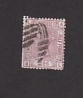 GB GRANDE BRETAGNE VICTORIA Y&T N°55 OBLITERE. COTE 100 EUROS. DEFAUTS - 1840-1901 (Victoria)