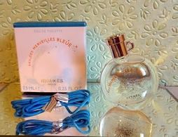 """Miniature Neuve  """"EAU DES MERVEILLES BLEUE """"de HERMES Eau De Toilette  7,5 Ml Dans Sa  Boite - Miniatures Modernes (à Partir De 1961)"""