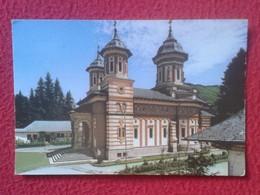 POSTAL POST CARD CARTE POSTALE CIRCULADA CON SELLOS WITH STAMPS ROMANIA RUMANÍA MANASTIREA SINAIA MONASTERIO DE , VER FO - Rumania
