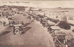 PLAYA DE MALVIN, MONTEVIDEO. No794.. ED A. CARLUCCIO. VOYAGEE CIRCA 1928- BLEUP - Uruguay