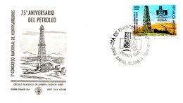 ARGENTINE. N°1330 De 1982 Sur Enveloppe 1er Jour. Pétrole. - Oil