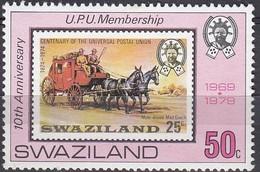 Swaziland - 1979 - 10th Anniv. Of UPU Membership - Swaziland (1968-...)
