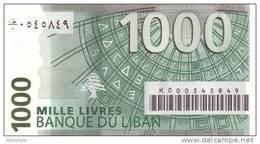 LEBANON P. 84a 1000 L 2004 UNC - Liban