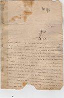 VP14.161 - Haute - Savoie - THONON 1756 - Lettre De Mr MAGNIER Pour Mr JAQUIER Notaire à TANINGES - Manuscripts