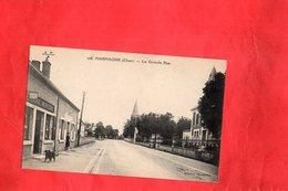 Carte Postale - MARMAGNE - D18 - La Grande Rue - France