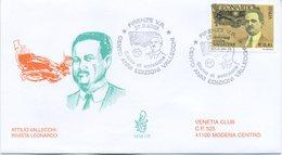 ITALIA - FDC  VENETIA 2003 - ATTILIO VALLECCHI E LA RIVISTA LEONARDO - ANNULLO SPECIALE - VIAGGIATA - 6. 1946-.. Repubblica