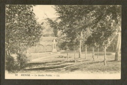CP-MENDE- Le Jardin Public - Mende