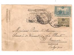 PR6146/ Postes Ottomanes CP écrite De Constantinople 1920 C.Stambuli Pera Dept.Trouvé Boîte To Belgium Namur La Plante - 1858-1921 Empire Ottoman