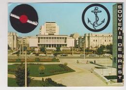 26591 BREST Le Square Kennedy Et Le Cercle Naval ( Avec Beret à Pompon ) -ed Artistiques Couleurs Toulon - 1972 - Brest