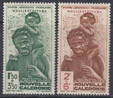 Wallis And Futuna 1942 - Surtaxed Airmail Stamps: Colonial Children's Fund - Mi 135-136 ** MNH - Wallis-Et-Futuna