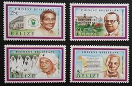 Belize 1982 Famous Balizians - Belize (1973-...)