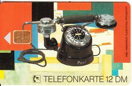GERMANY - Old Telephone 1925(E 08), Tirage 30000, 08/92, Used - Telephones
