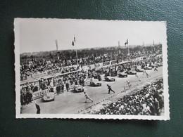CPA 72 LE MANS CIRCUIT DE LA SARTHE LE DEPART VOITURES ANCIENNES FOULE - Le Mans