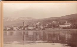 SANS DOUTE SUISSE / A SITUER  / 2 PHOTOS COLLEES SUR CARTON - FIN XIXe DEBUT XXe Siècle / 16 X 10 CM - Anciennes (Av. 1900)