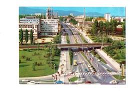Cpm - Slovénie - Slovenia - Ljubljana - Autoroute Immeuble Travaux Grue Voitures Camion - Slovénie