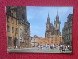 POSTAL POST CARD CARTE POSTALE PRAHA PRAGA ? REPÚBLICA CHECA CHECOSLOVAQUIA Czech Republic Czechoslovakia TÝN CHURCH VER - República Checa