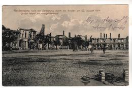 3954,  Feldpost, Neidenburg, Nidzica, Polen, Masuren - Guerre 1914-18