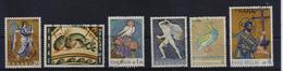 GREECE STAMPS MOSAIC ART-16/1/70-USED- COMPLETE  SET - Griechenland