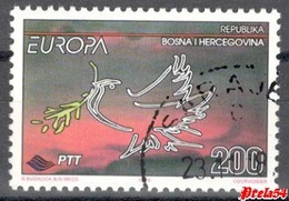 Bosnia Sarajevo - EUROPA  1995 Used - Bosnia And Herzegovina